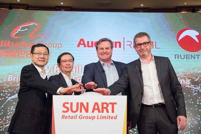 Sun Art., which runs the China operations of the Auchan and RT-Mart hypermarket chains, had 484 stores across the country as of June.