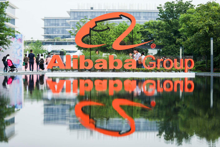 Alibaba's cloud division reported its first positive adjusted earnings before interest, tax and amortization, a milestone for the growing business.