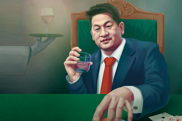 She Kailun, the chairman of Yatai International Holding Group. Illustration: Dong Biqi