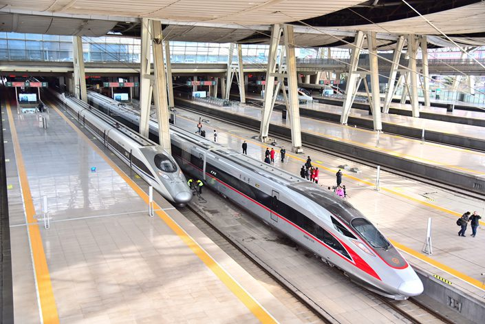 The Beijing-Shanghai high-speed rail line is one of China's oldest, commencing operations in June 2011.