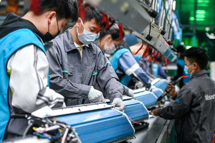 China's registered urban unemployment rate stood at 5.6% by the end of September.