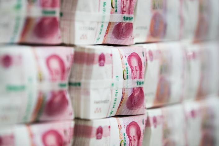 The offshore yuan climbed as much as 0.9% in late trading Wednesday to 6.6202 per dollar, its strongest level since July 2018.
