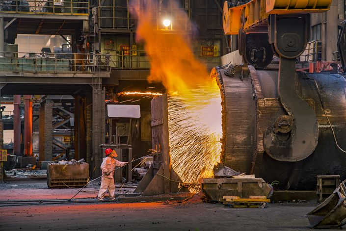The strong third quarter marked a sharp improvement from the first half of the year when construction and manufacturing activity slowed during the height of China's Covid-19 outbreak.