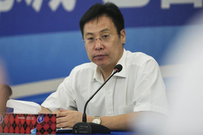 Cai Guohua, former chairman of joint stock lender Hengfeng Bank.