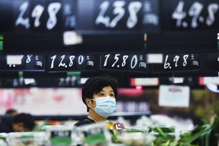 China's Consumer Inflation Slowed in October