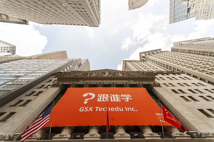 GSX Techdu lists in New York on June 6, 2019.
