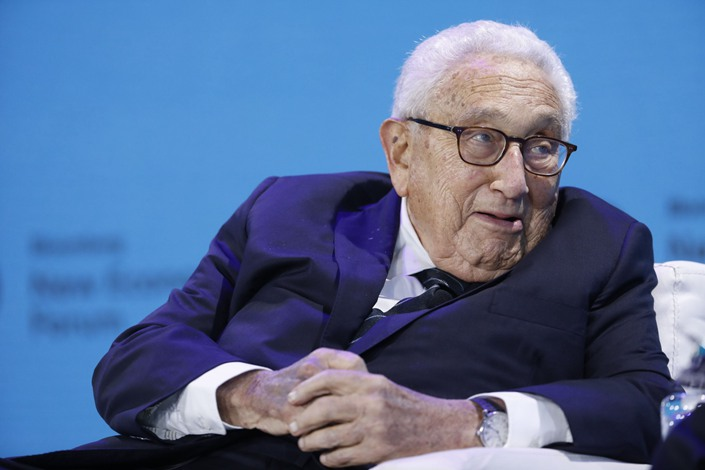 Former U.S. Secretary of State Henry Kissinger. Photo: Bloomberg