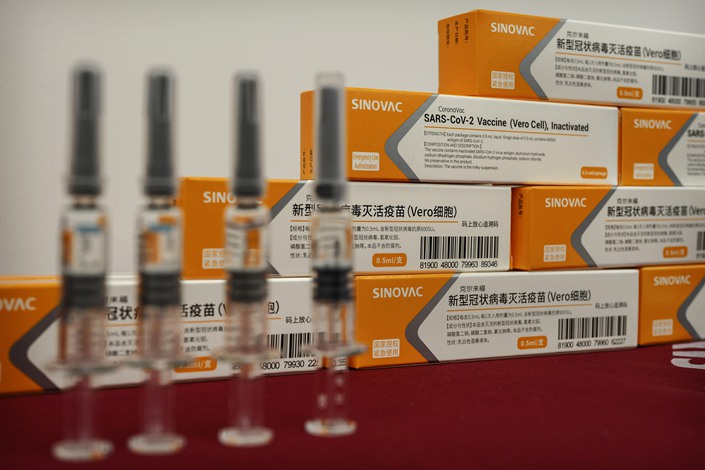 Chinese Biopharmaceutical company Sinovac Biotech developed the vaccine candidate.
