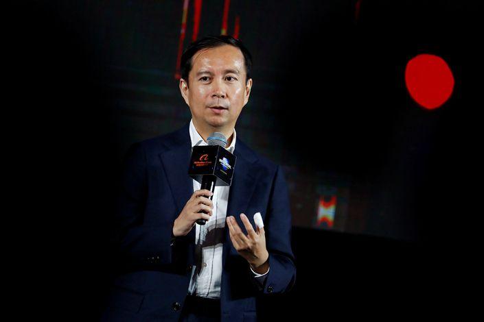Alibaba Group's CEO Daniel Zhang