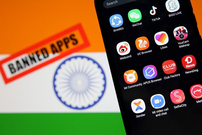 India banned another 43 Chinese apps on Tuesday, bringing the total of prohibited Chinese apps in the country to 267.