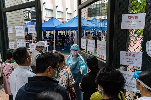 钟南山建议香港再次推行全民检测