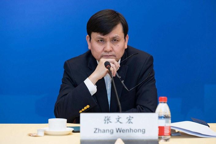 Zhang Wenhong.