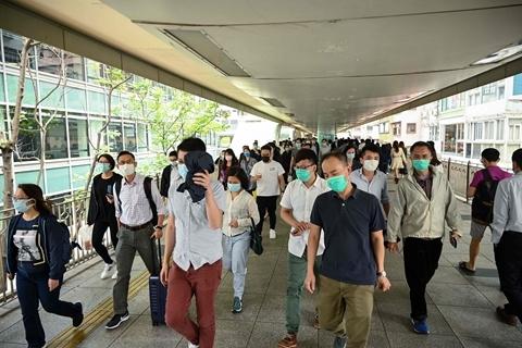香港日增115宗新冠病例 幼儿园中小学停课至12月底