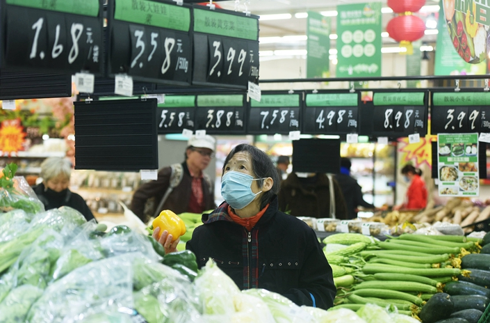 China's consumer prices fall for the first time since 2009