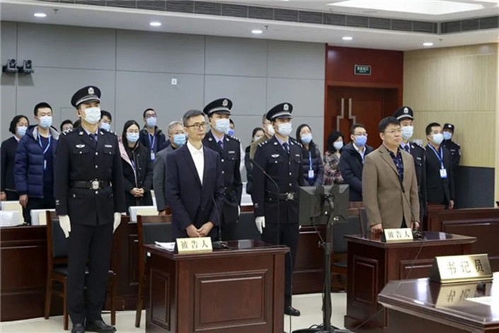 Li Ning, a former academician at the Chinese Academy of Engineering, has been sentenced to 10 years in prison for embezzling public funds. Photo: Jilin Provincial Higher People's Court