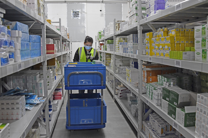 Established in 2010 as a drug sales unit of online grocery site Yihaodian, 111 was spun off as a separate business in 2014