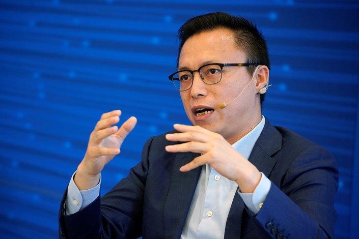 Ant Financial Executive Chairman Eric Jing.