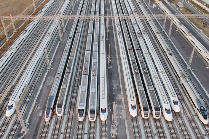 China's authorities have no intention of over-stimulating the economy through massive infrastructure spending this year. Photo: IC Photo
