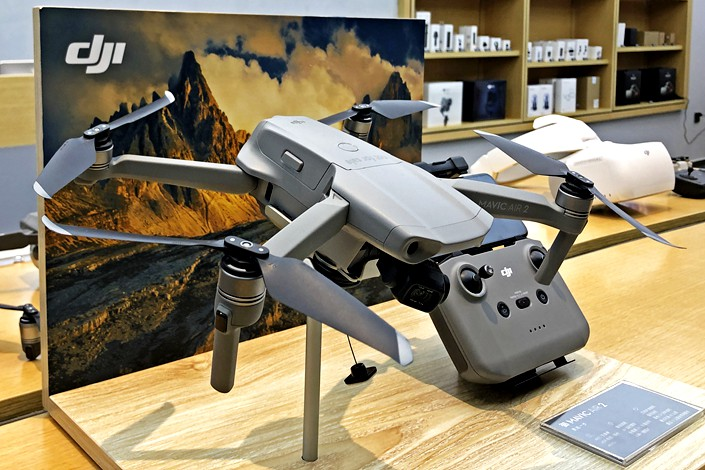 """The U.S. on Friday added around 60 Chinese firms, including drone-maker DJI, to the entity list for what it called """"actions deemed contrary to the national security or foreign policy interest of the United States."""""""