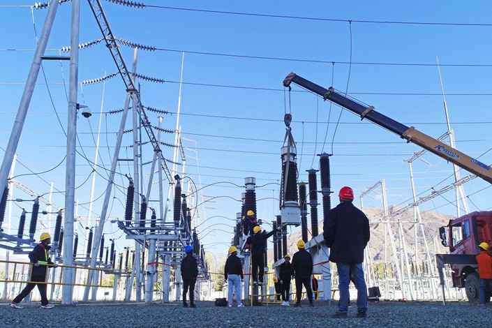 State Grid Corp. of China, the nation's largest grid operator, said late Friday that some parts of the country were experiencing short-term tight supplies due to high demand created by cold winter weather and the rapid speed of China's economic recovery.