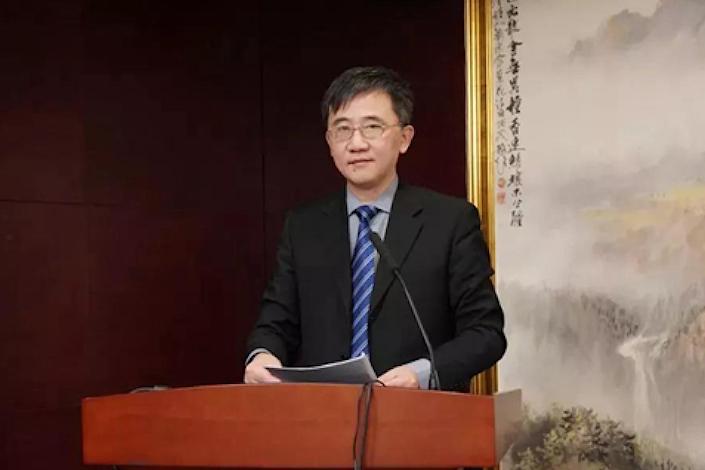 Huang Xiaofeng, chairman of Zhonghai Trust.
