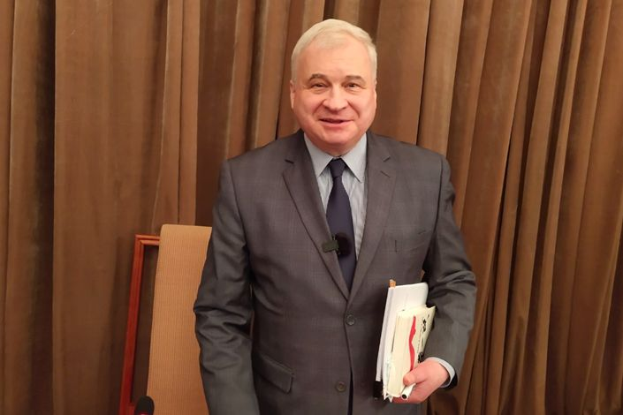 Andrey Denisov, Russia's ambassador to China. Photo: Russian Embassy in China