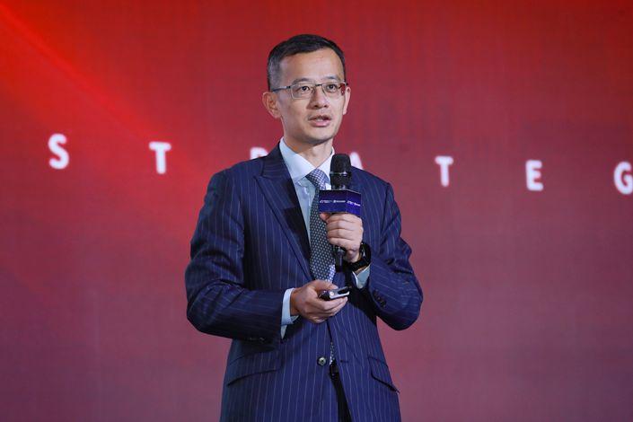 Ding Zuyu, CEO of E-House. Photo: IC Photo