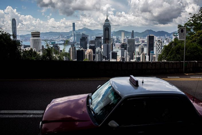American among those arrested in Hong Kong on security charge