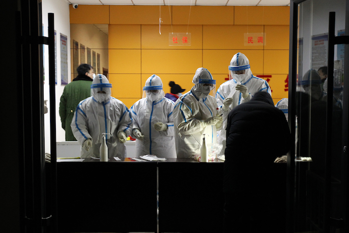 Citywide virus tests has been rolled out in Shijiazhuang