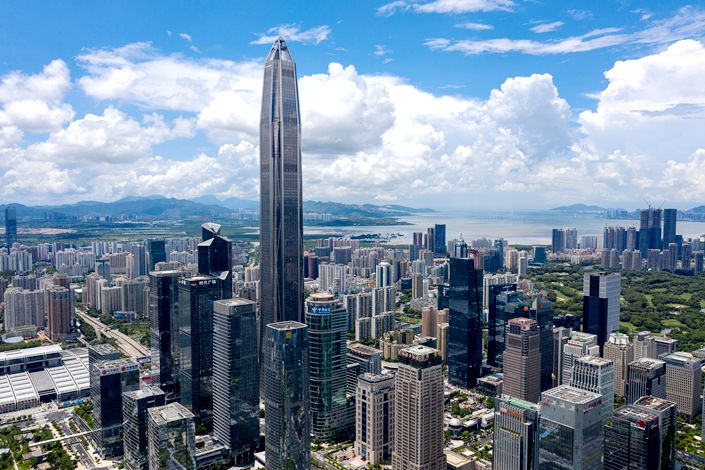 Abundant supplies of top office space in Shenzhen has led to a higher vacancy rate, which stood at 25.1% at the end of 2020, according to Cushman & Wakefield.