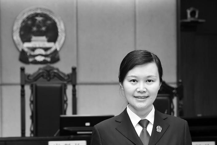 Zhou Chunmei. Photo: Hunan People's High Court
