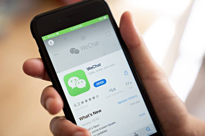 A federal judge expressed concern that the proposed restrictions on Tencent's WeChat app are intended to make the app disappear completely in the U.S., providing no good alternative for millions of Chinese-Americans who use it. Photo: Bloomberg