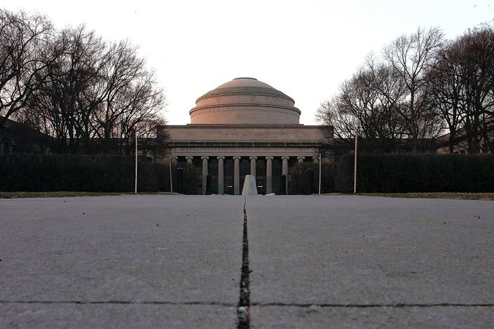 The Maclaurin Building on the campus of the Massachusetts Institute of Technology in Cambridge, Massachusetts. Photo: Bloomberg