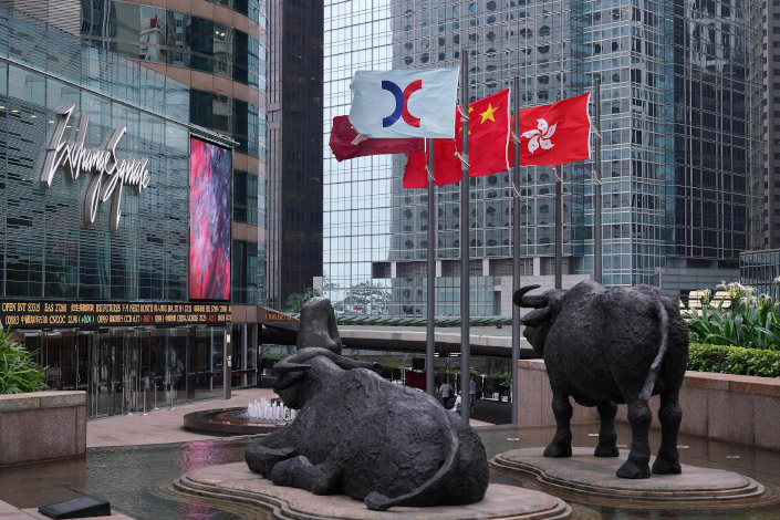 Hong Kong Exchanges & Clearing in Hong Kong on Sept. 23.