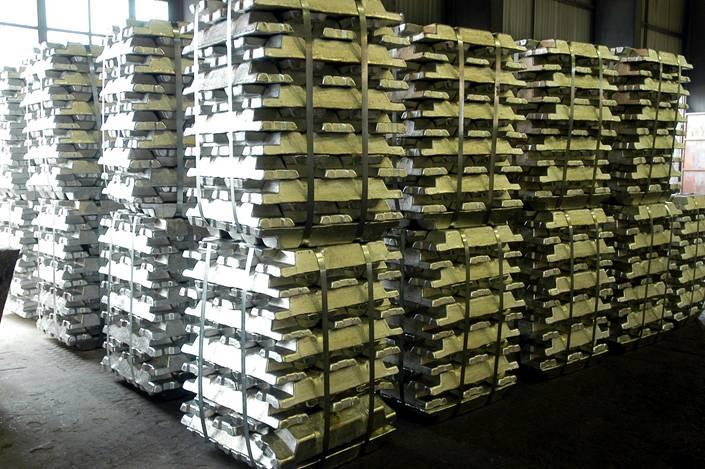An electrolytic aluminum factory in Guiyang, Guizhou province.