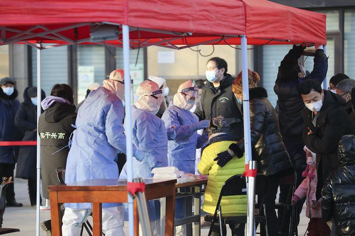 Beijing is conducting coronavirus mass testing in the Daxing district.