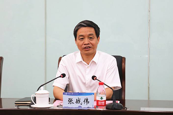 Zhang Zhanwei. Photo: Henan University