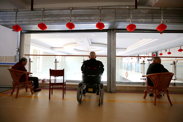 Some unscrupulous private firms in China are duping older people into making high-risk investments on the promise of a secure place to live in the fast-aging nation.
