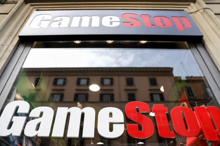GameStop, AMC soar again while stocks indexes open lower