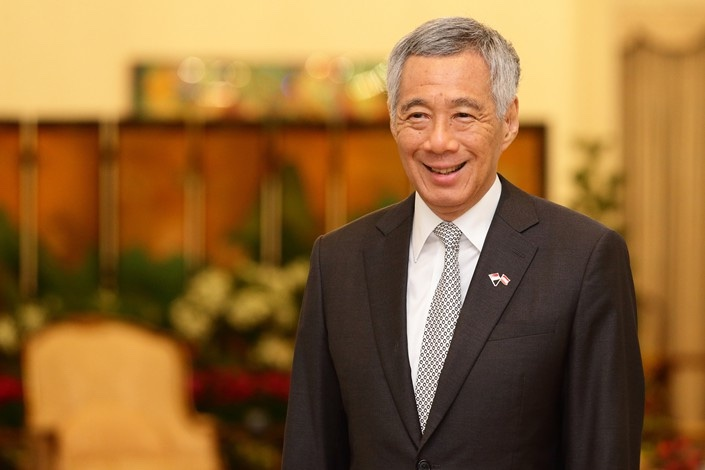 Singapore Prime Minister Lee Hsien Loong.