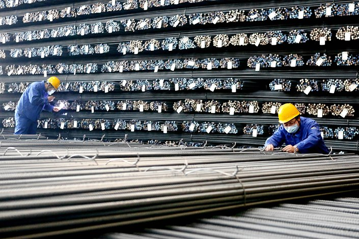 Profits of China's major privately-owned steel mills rose 6.1% year-on-year to 161 billion yuan in 2020. Photo: VCG