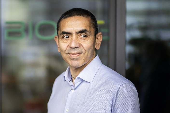 Biontech Chairman Ugur Sahin. Photo: VCG