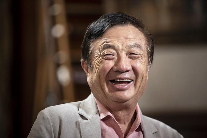 Huawei Technologies founder Ren Zhengfei makes his first public remarks since U.S. President Joe Biden's inauguration.