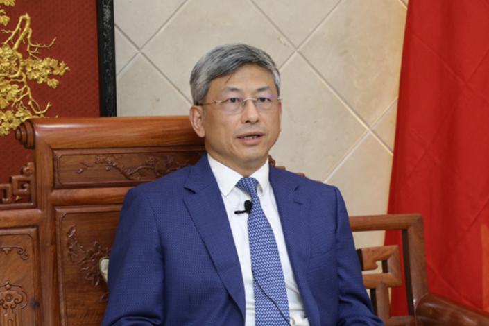 Chen Hai, Chinese Ambassador to Myanmar.