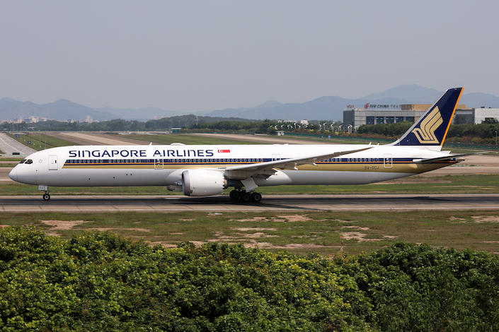 Singapore Airlines is among air carriers conducting trials of the IATA travel pass.