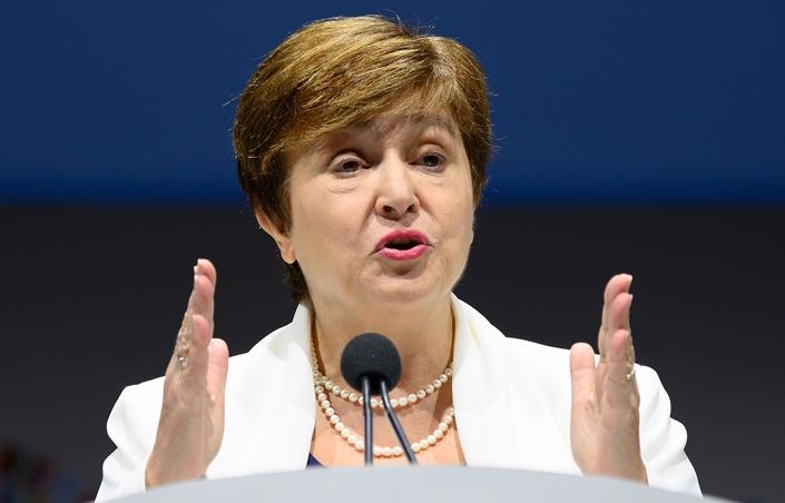 IMF Managing Director Kristalina Georgieva. Photo: VCG