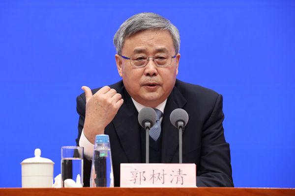 郭树清:中国金融机构不会执行美国制裁
