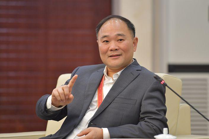 Li Shufu, chairman of Geely. Photo: VCG