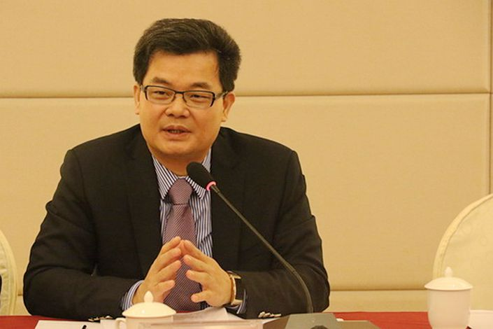 Xiao Shengfang, a delegate to China's legislature, said that his motion urges the government to set up a mechanism by which minor offenses can be expunged from criminal records under certain circumstances. Photo: Guangdong Lawyers Association