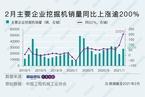 行业预期基建持续走强 2月挖掘机销量增长迅猛